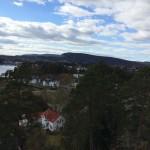 Oslo- suburbian landscape